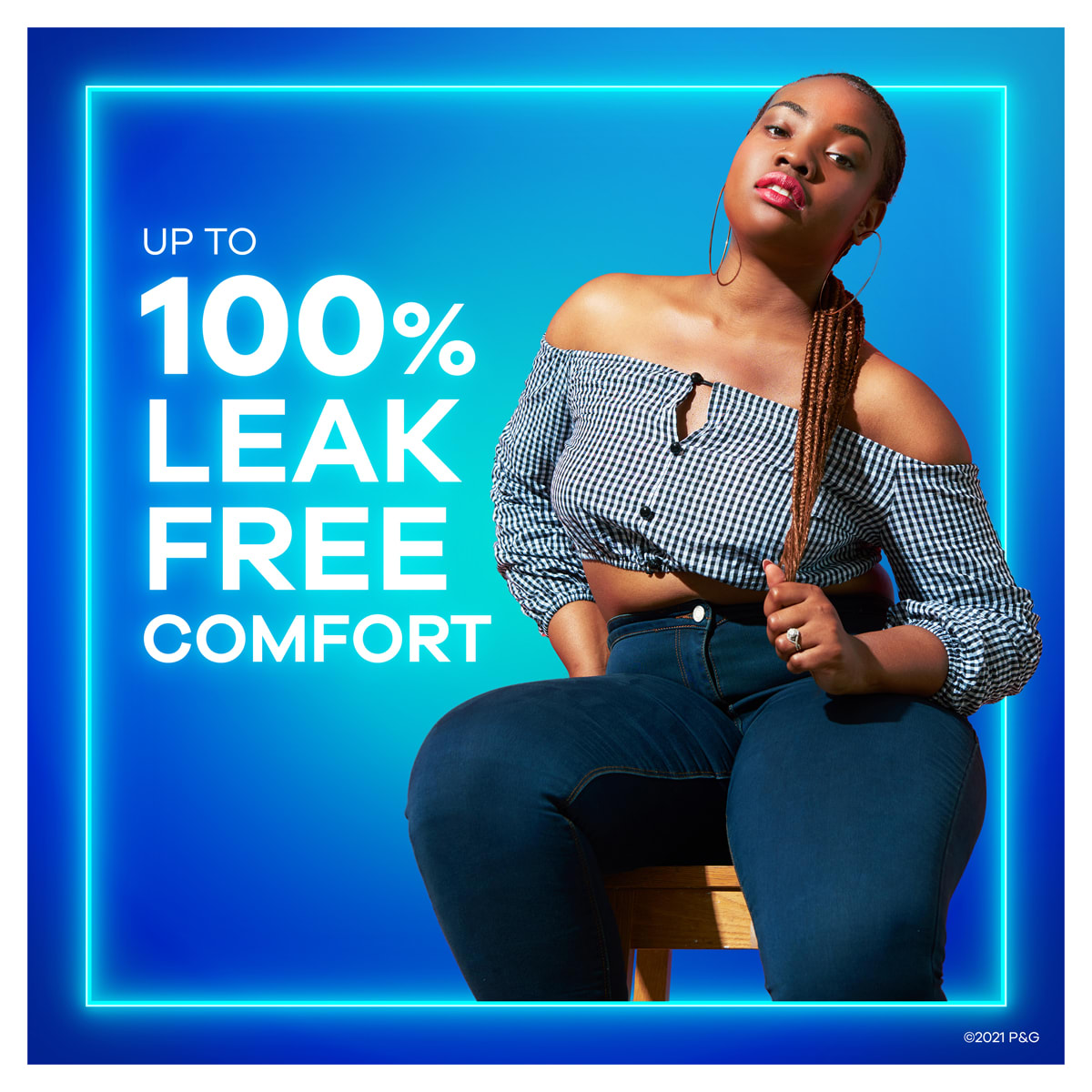 Always Maxi 100 Percent Leak Free Comfort