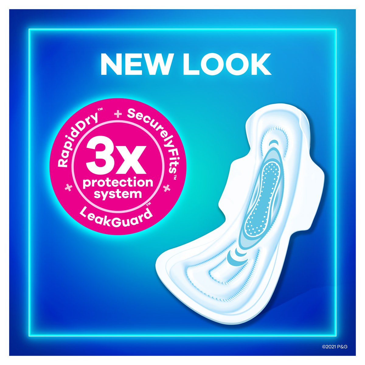 Always Maxi Pads Wings New Look