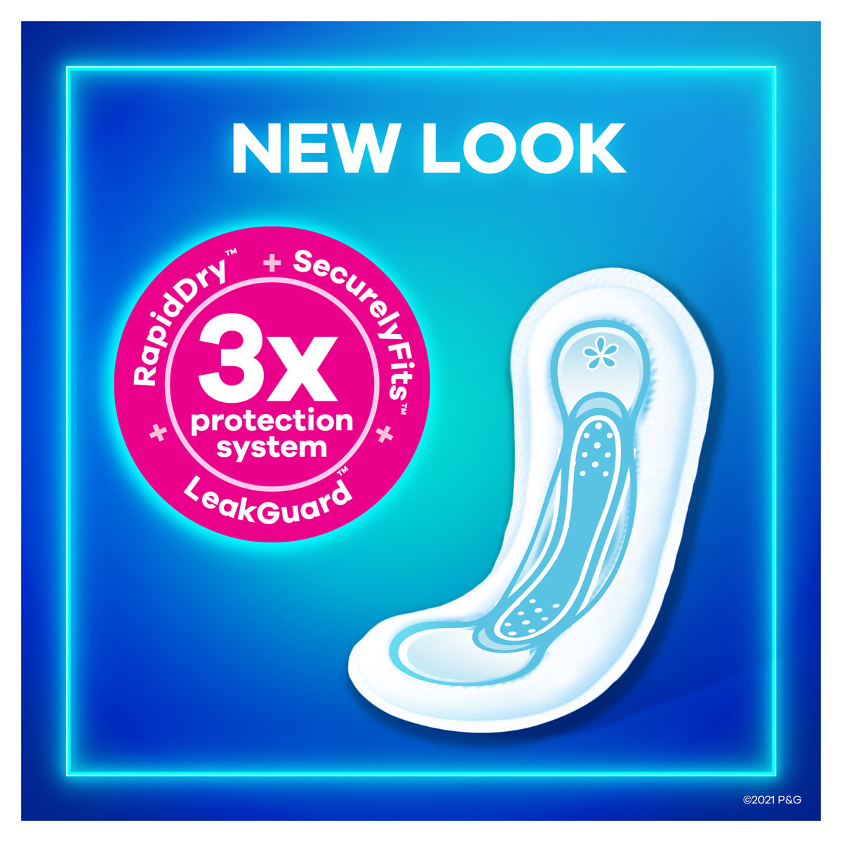 Always Maxi Pads without Wings New Look