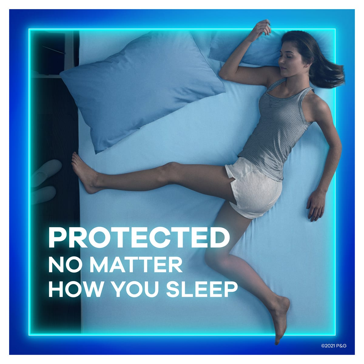 Always Maxi Protected No Matter How You Sleep
