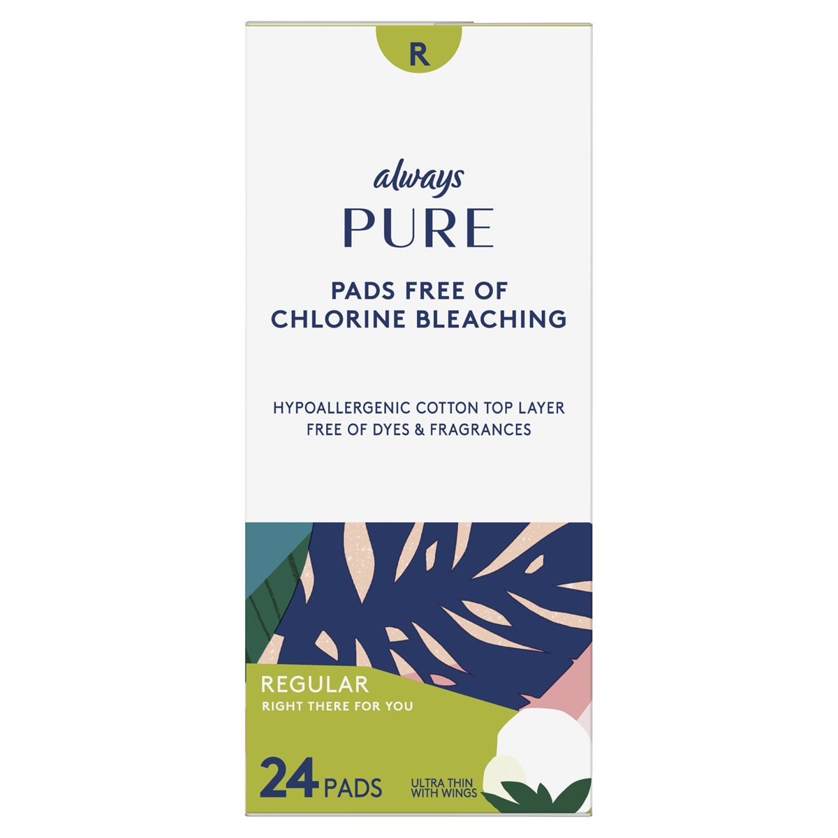 Always Pure Ultra Thin Regular Pads With Wings