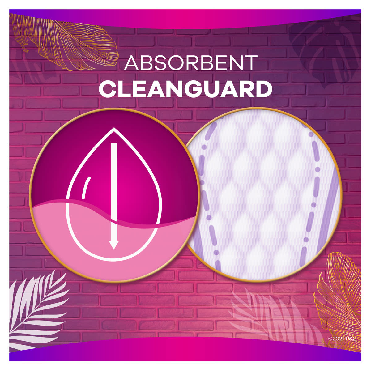 Always Radiant Multistyle Absorbent Cleanguard