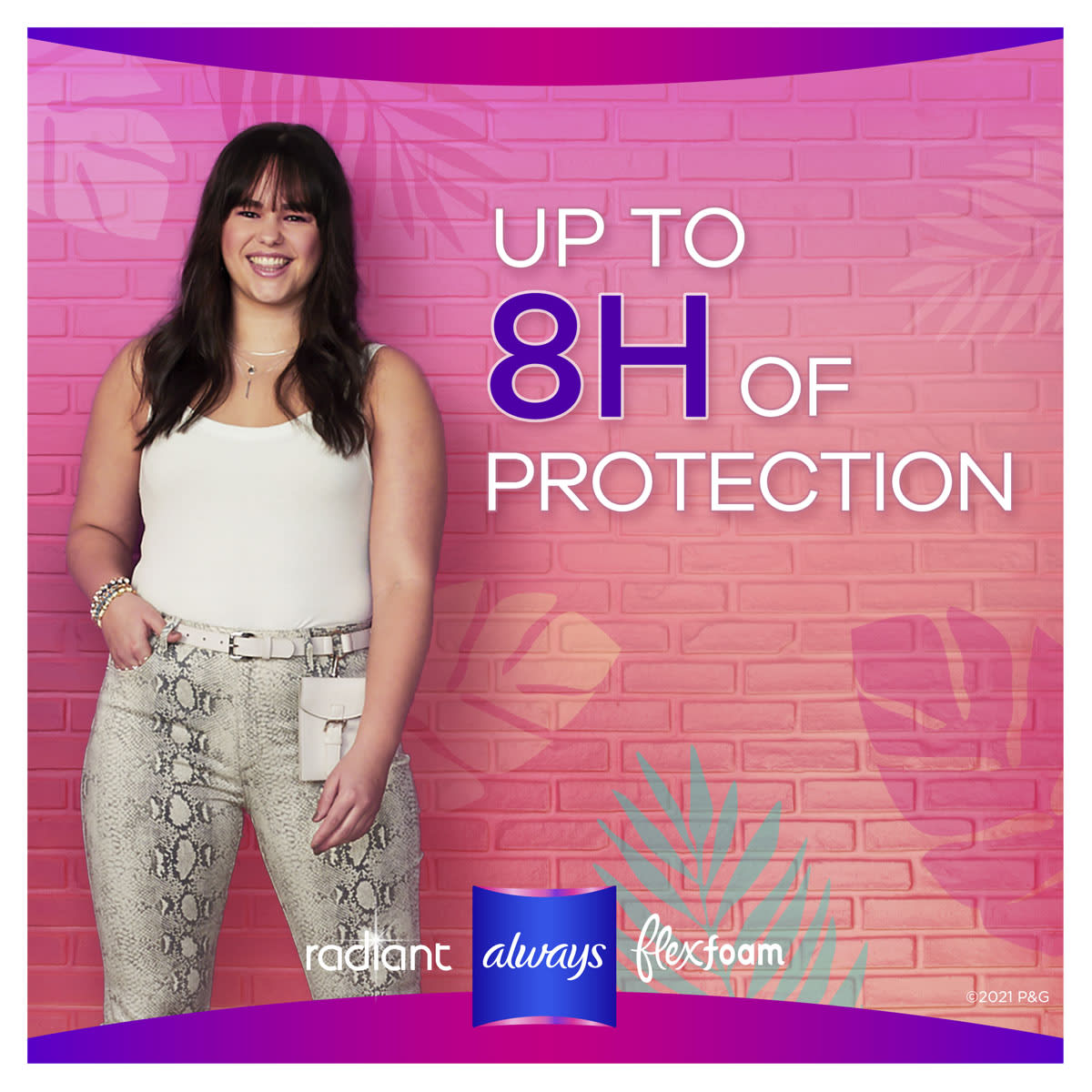 Always Radiant Up To 8h Of Protection