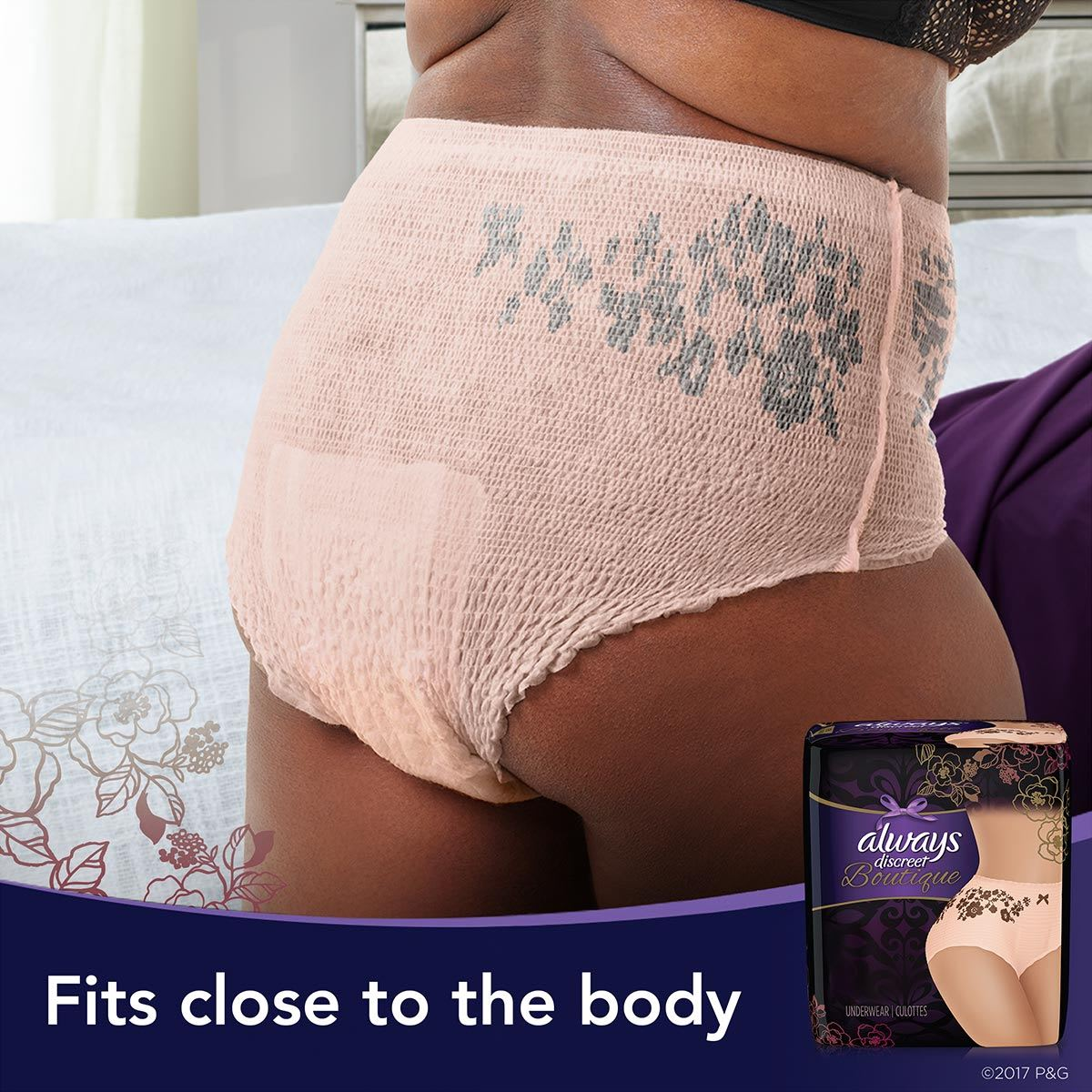 Fit close to the body