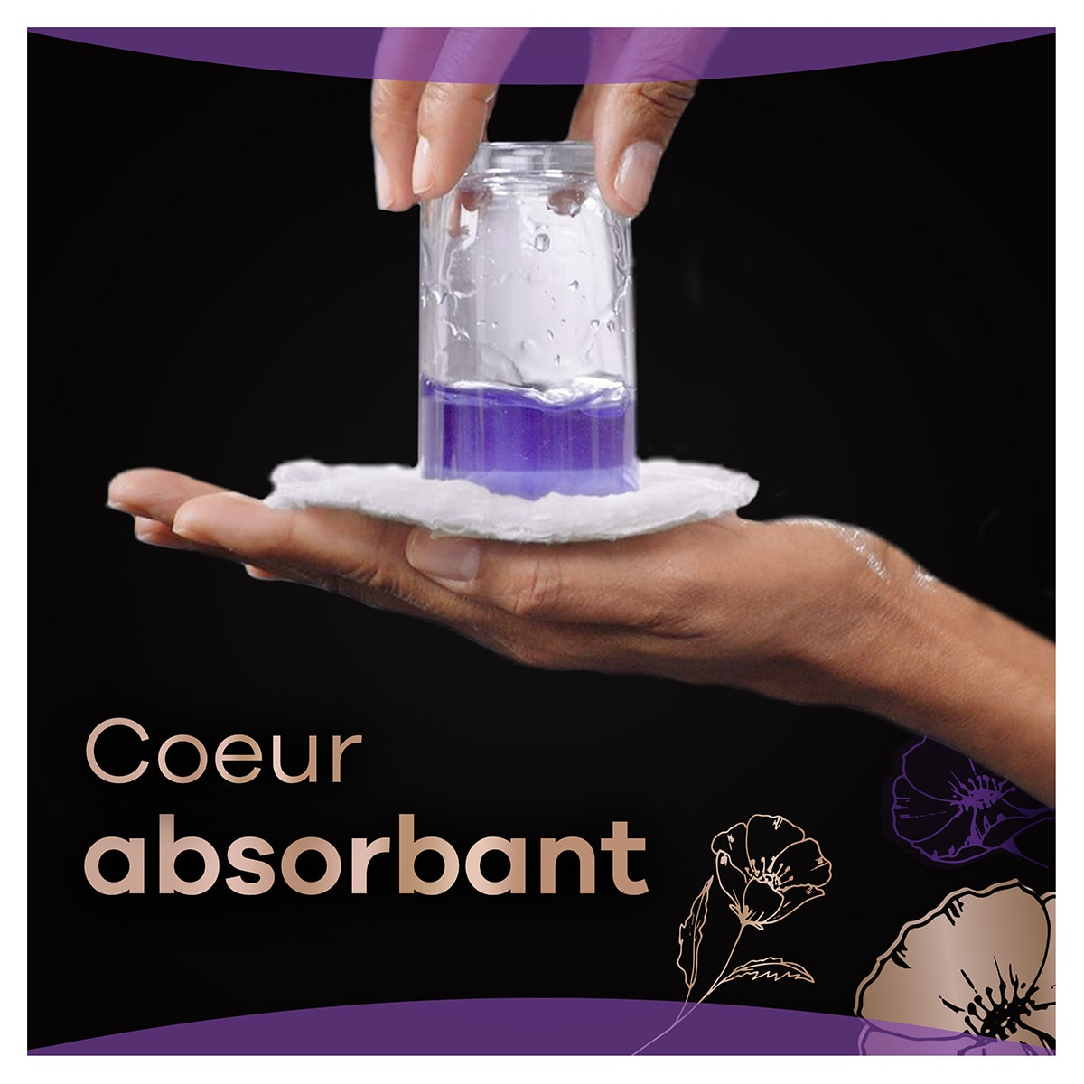 Always Discreet Boutique Coeur Absorbant