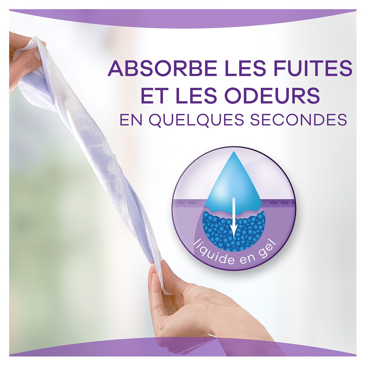 Always Discreet Small Night Absorbe Les Fuites Et Les Odeurs