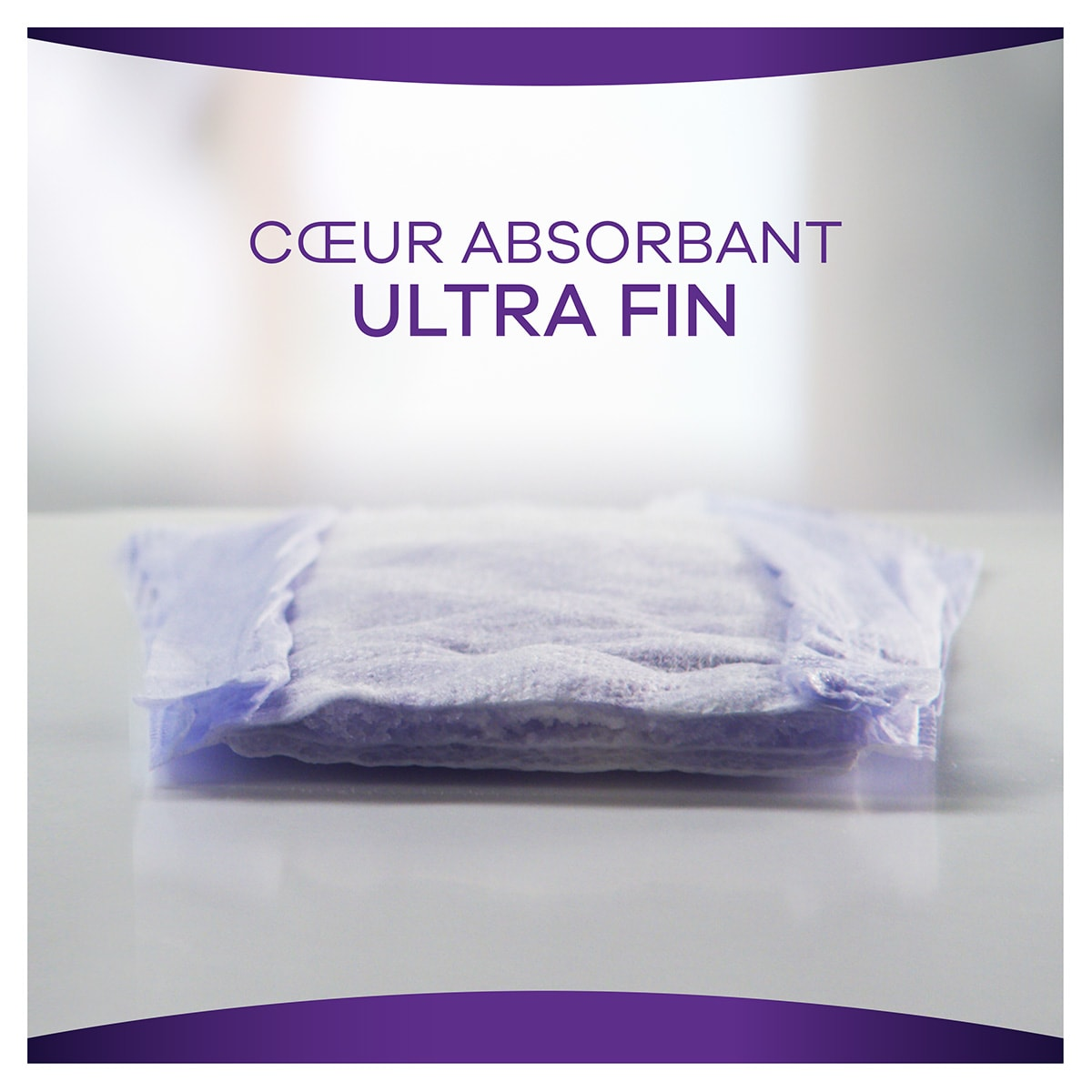 Coeur absorbant ultra fin