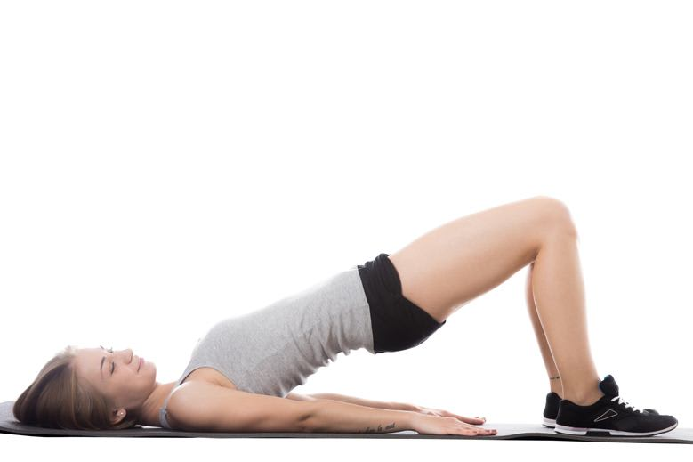 Pelvic Floor Exercises for Women - Bridges
