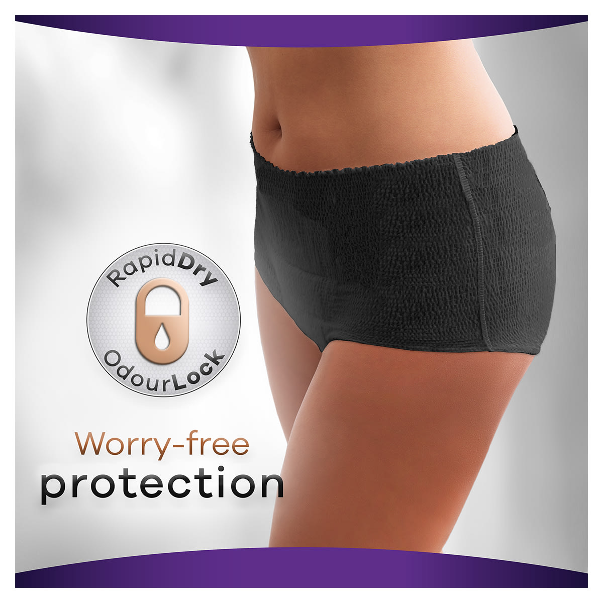 Always Discreet Boutique Pants Worry Free Protection 1200x1200