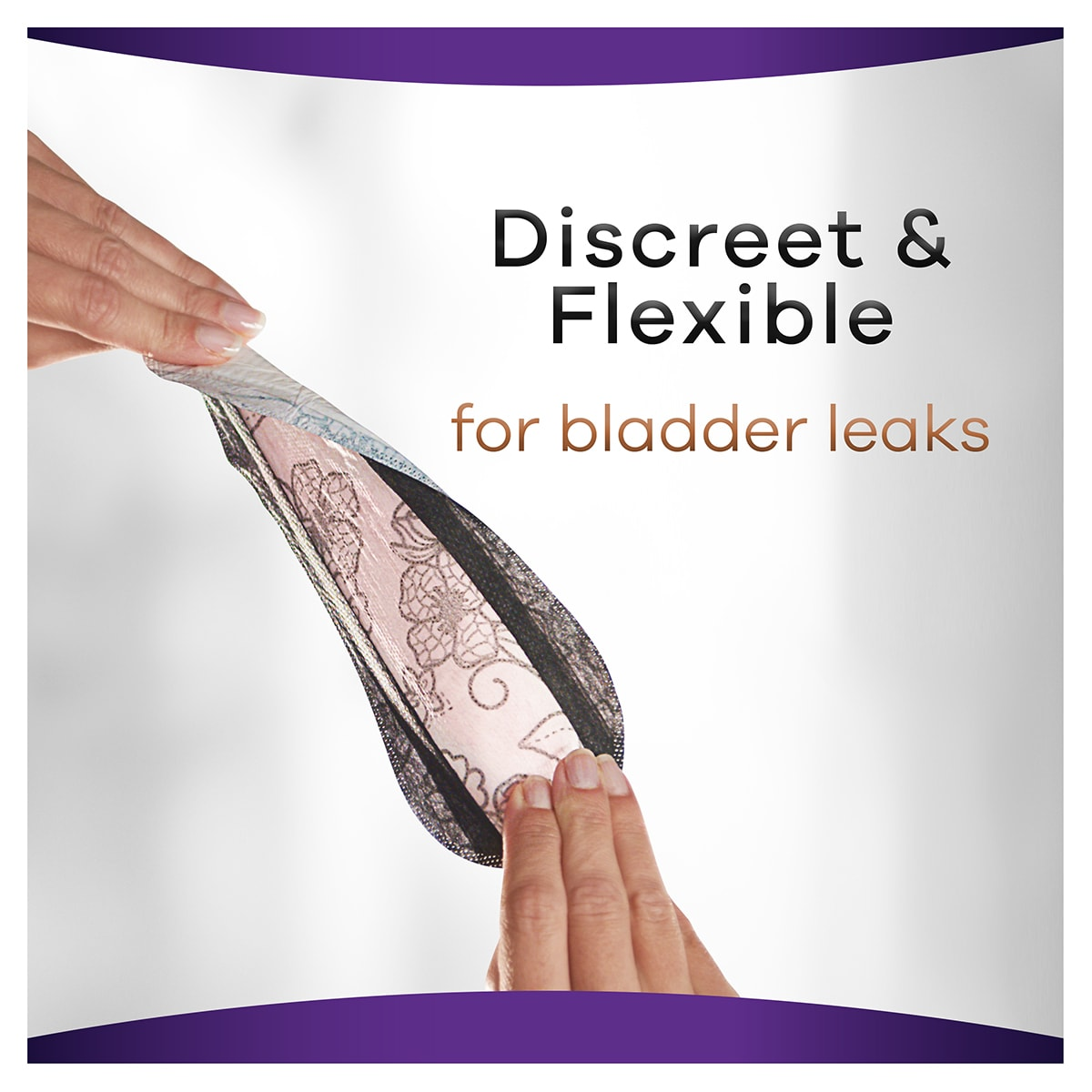 Always Discreet Boutique Pads Light For Bladder Leaks 1200x1200