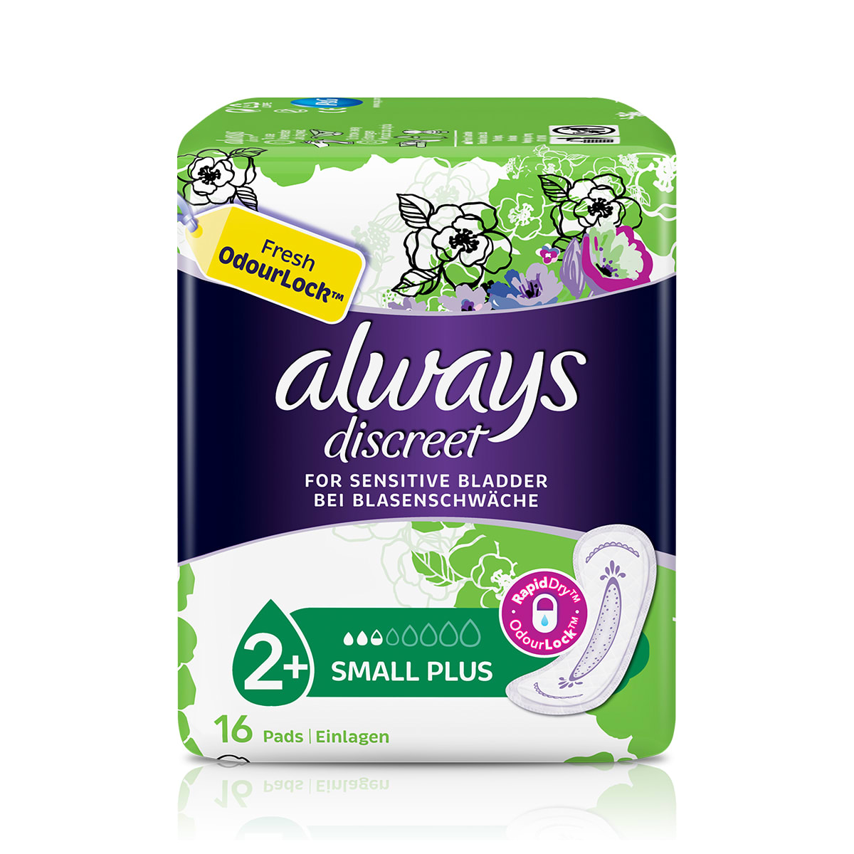 Always Discreet Pads Small Plus
