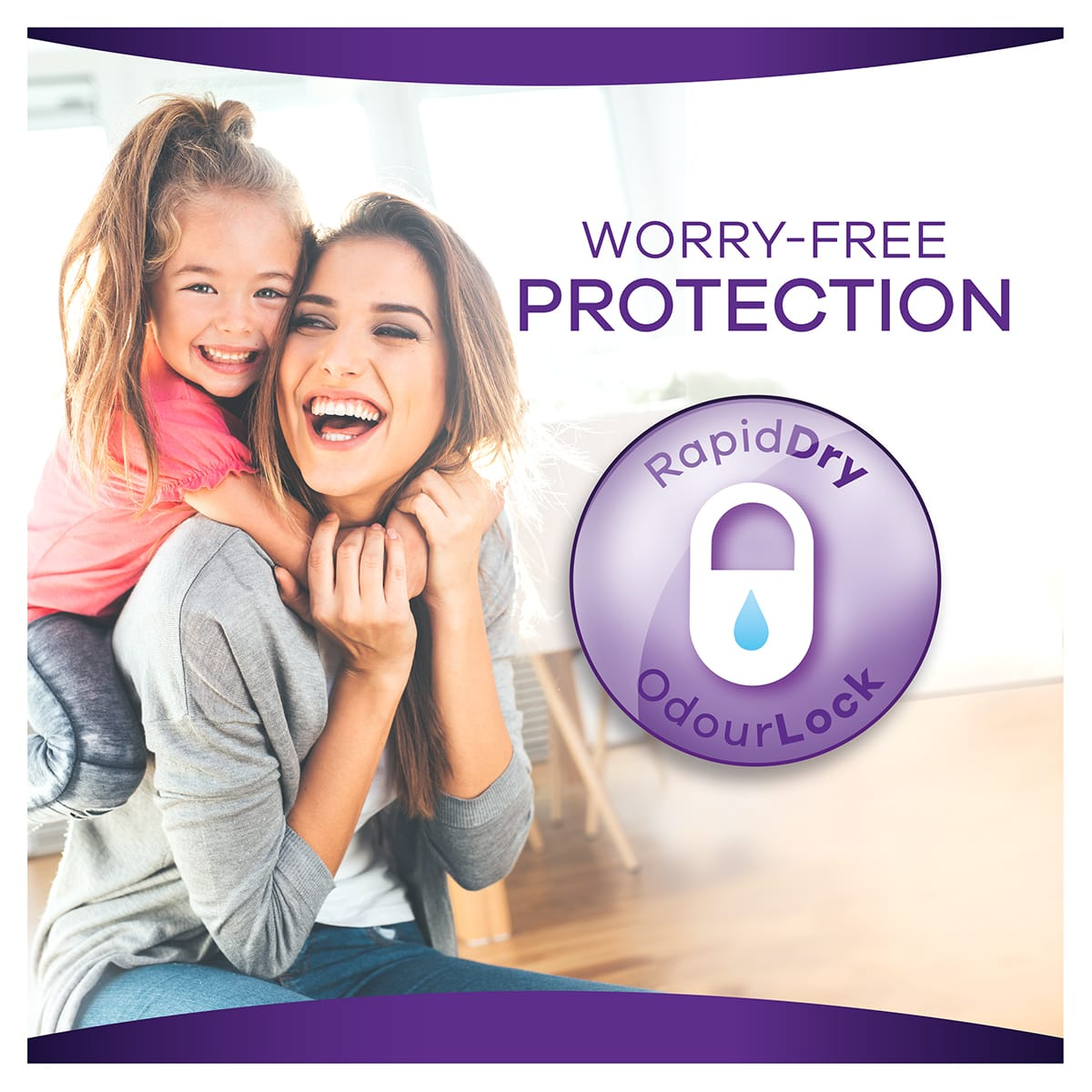 Always Discreet Pads Light Worry Free Protection 1200x1200