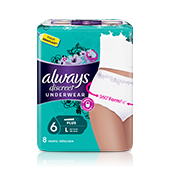 ALWAYS DISCREET Incontinence Pants Plus Large
