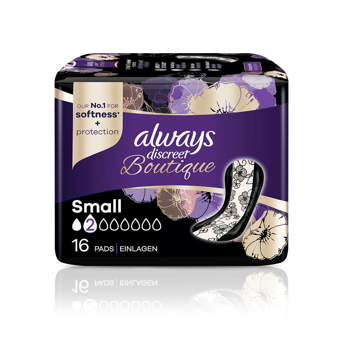 ALWAYS DISCREET Boutique Incontinence Pads