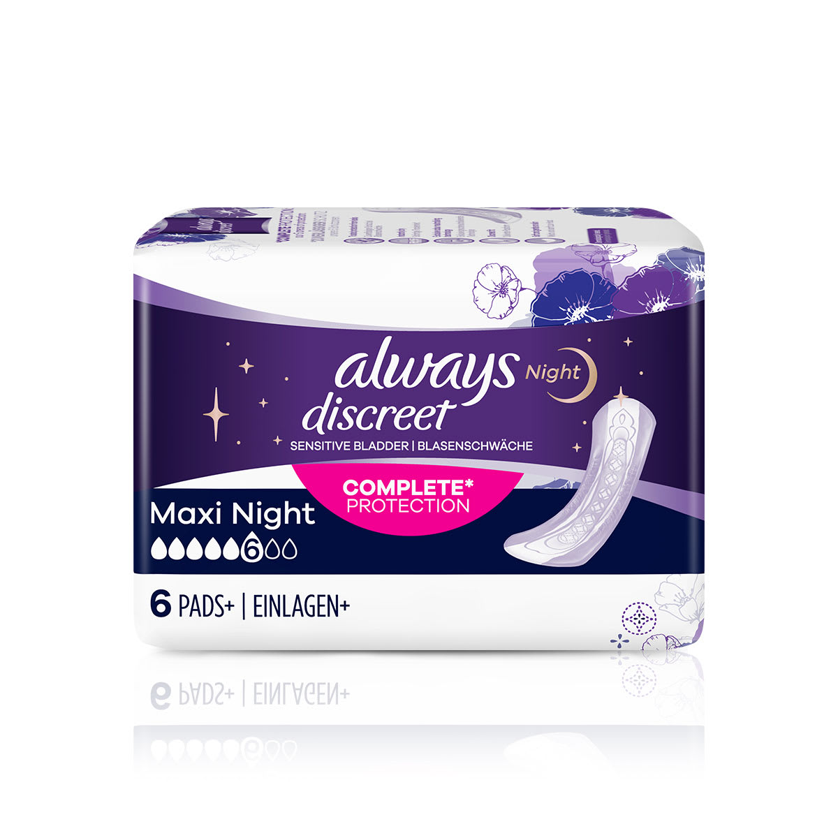 ALWAYS DISCREET Incontinence Pads Maxi Night