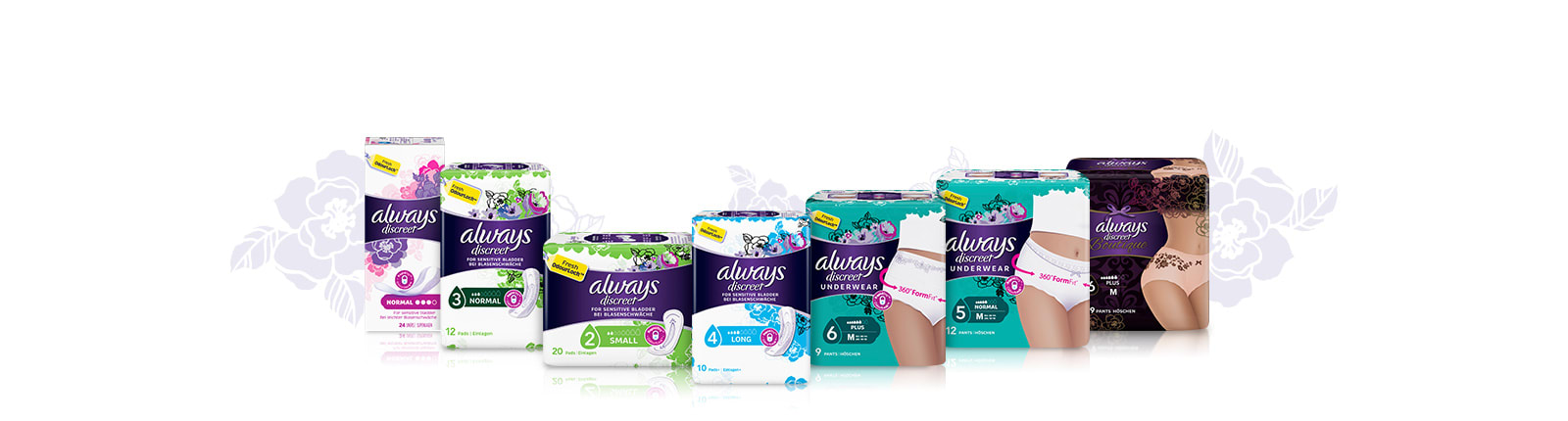 ALWAYS DISCREET free samples, coupons and offers