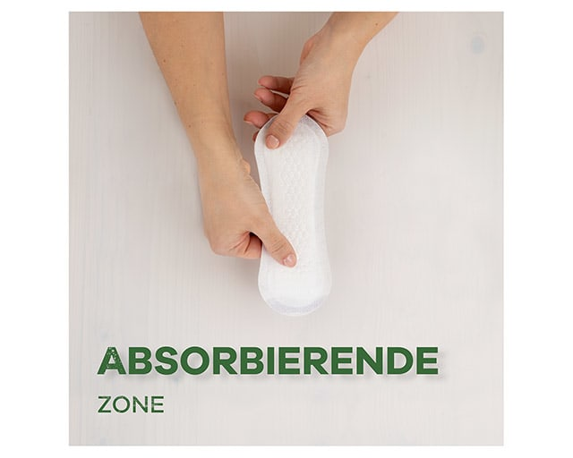 ALWAYS Absorbierende zone