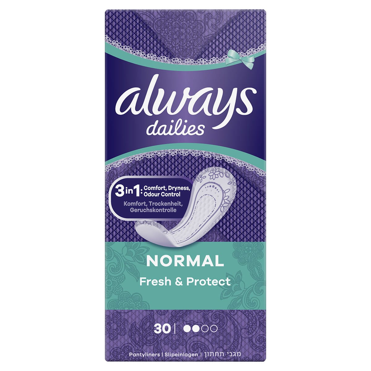 Fresh and Protect Normal 30ct