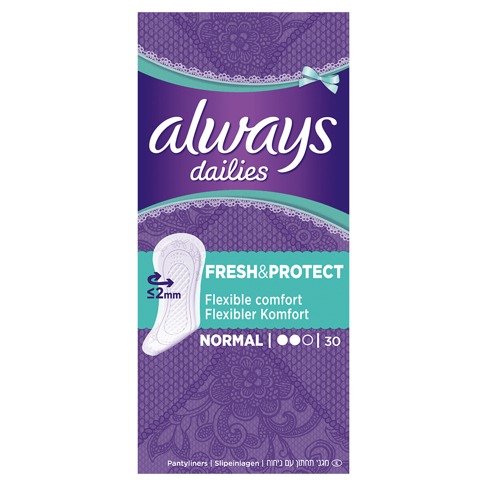 ALWAYS DAILIES Fresh & Protect Protège-lingeries Normal