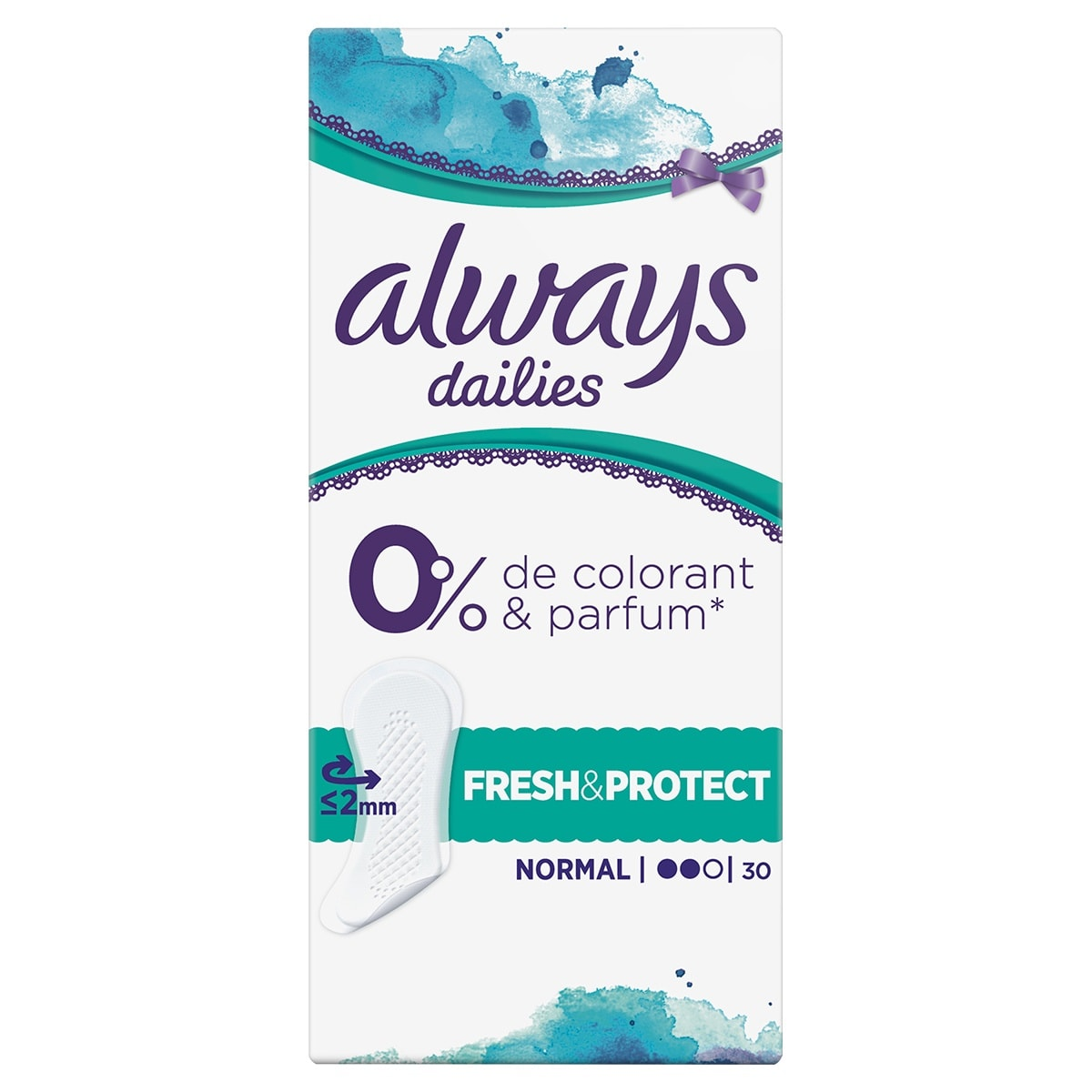 Always Dailies Fresh Protect Lily Normal