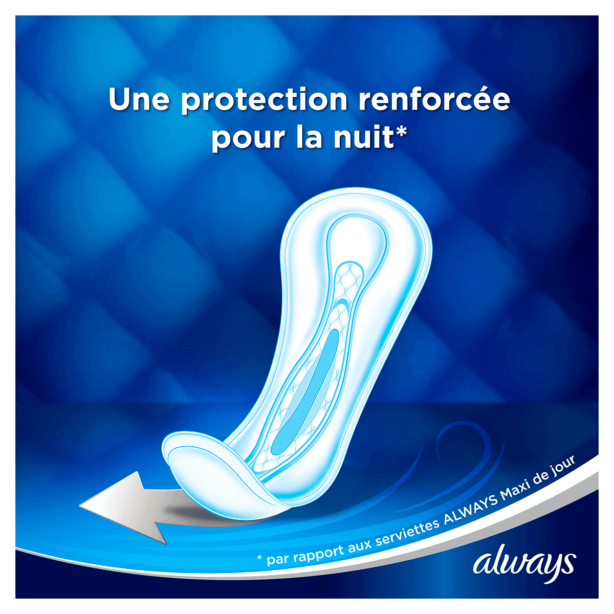 ALWAYS Maxi Night Profresh Serviettes hygiéniques 8