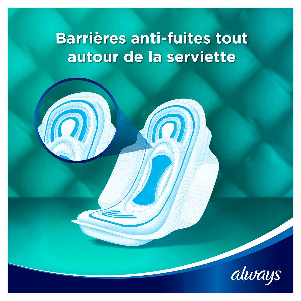 ALWAYS Maxi Normal Serviettes Hygieniques Cycle Menstruel 3