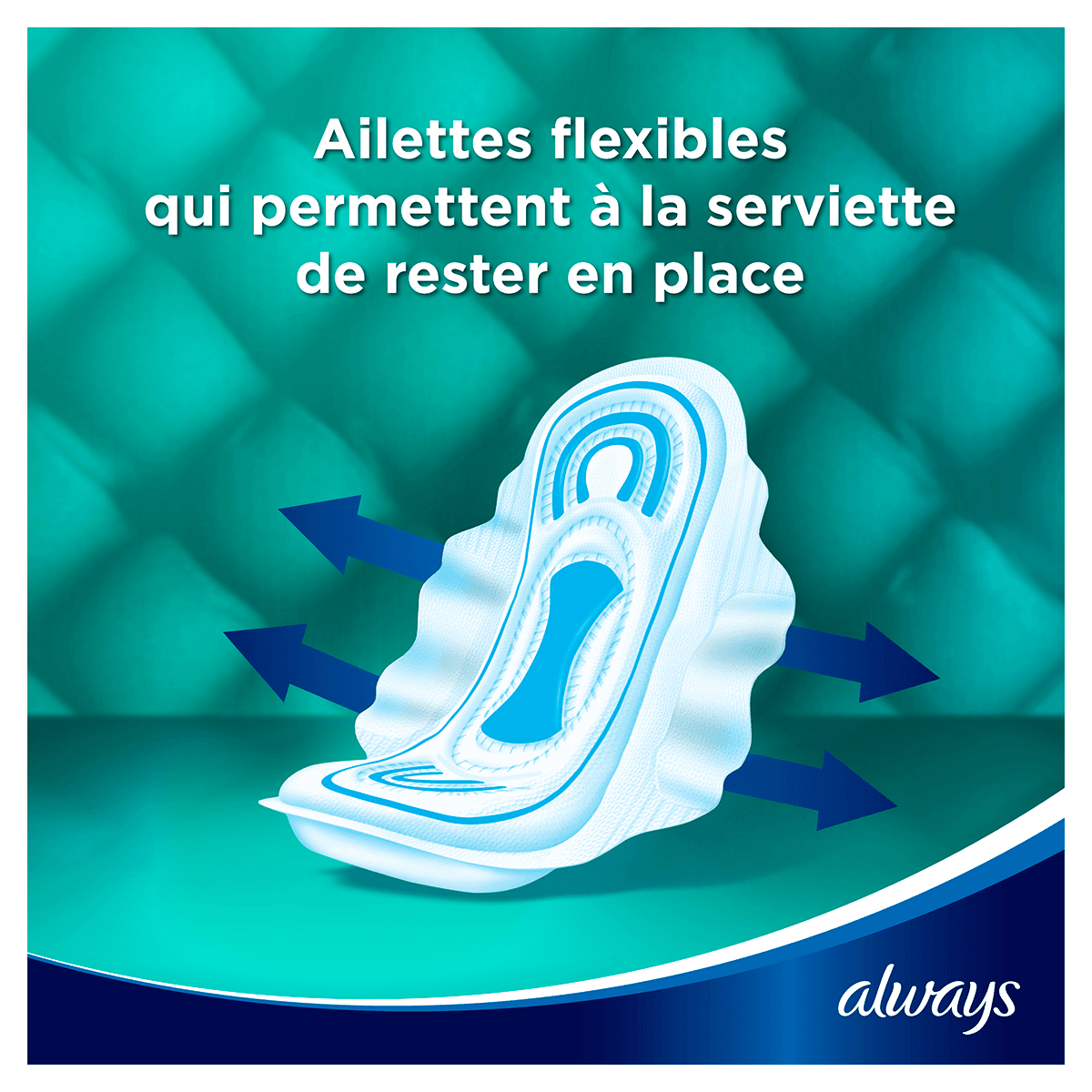 ALWAYS Maxi Normal Serviettes Hygieniques Cycle Menstruel 5