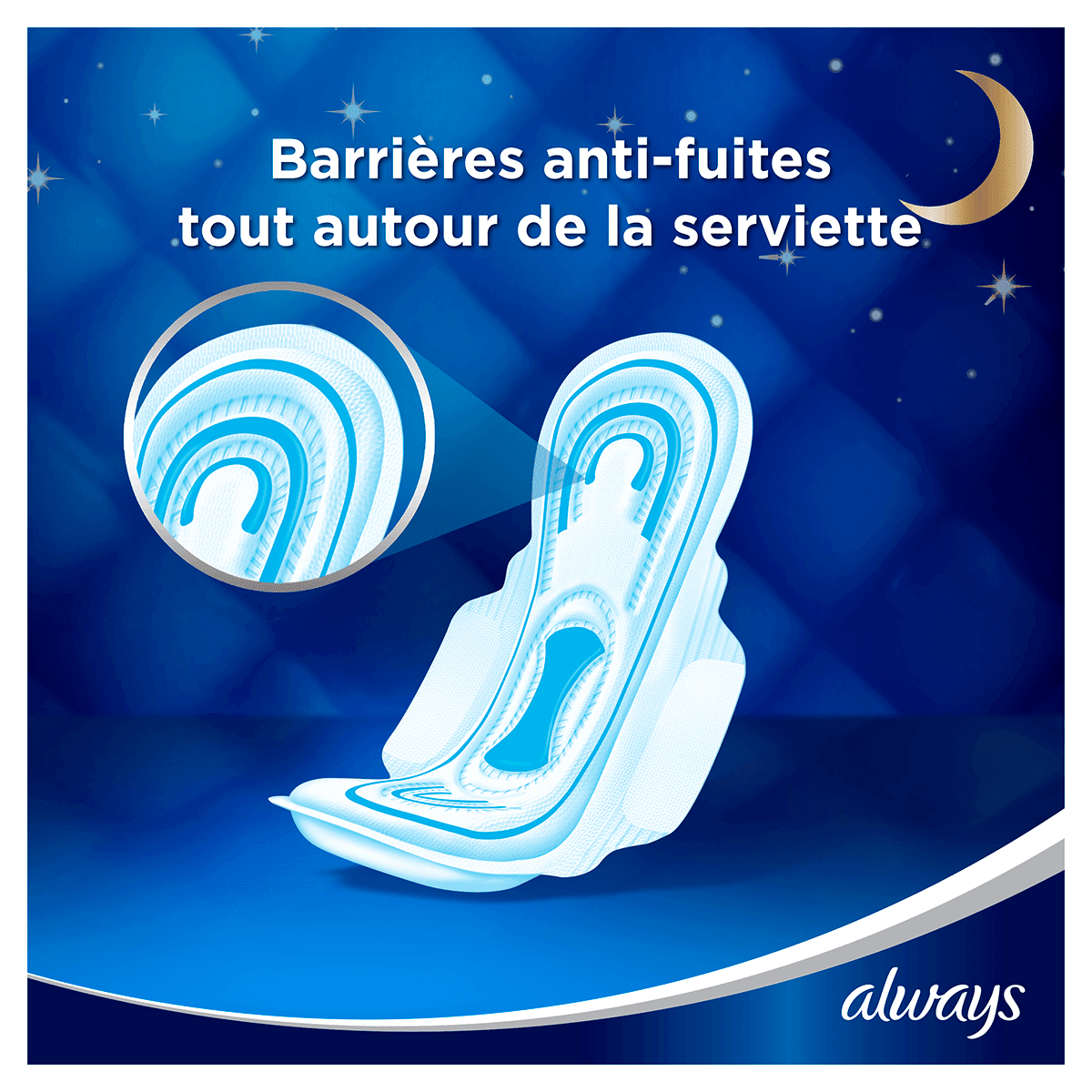 ALWAYS Maxi Night Serviettes Hygiéniques Cycle Menstruel 4