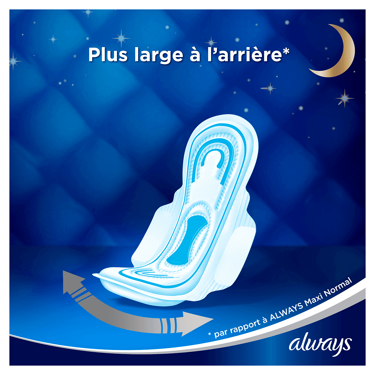 ALWAYS Maxi Night Serviettes Hygiéniques Cycle Menstruel 8