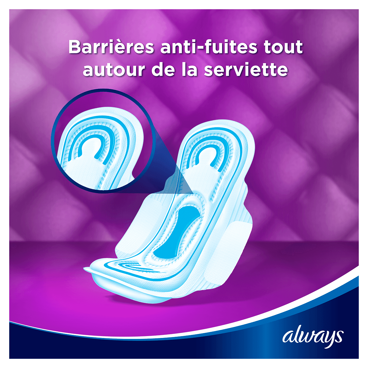ALWAYS Maxi Long Serviettes Hygieniques Cycle Menstruel 4