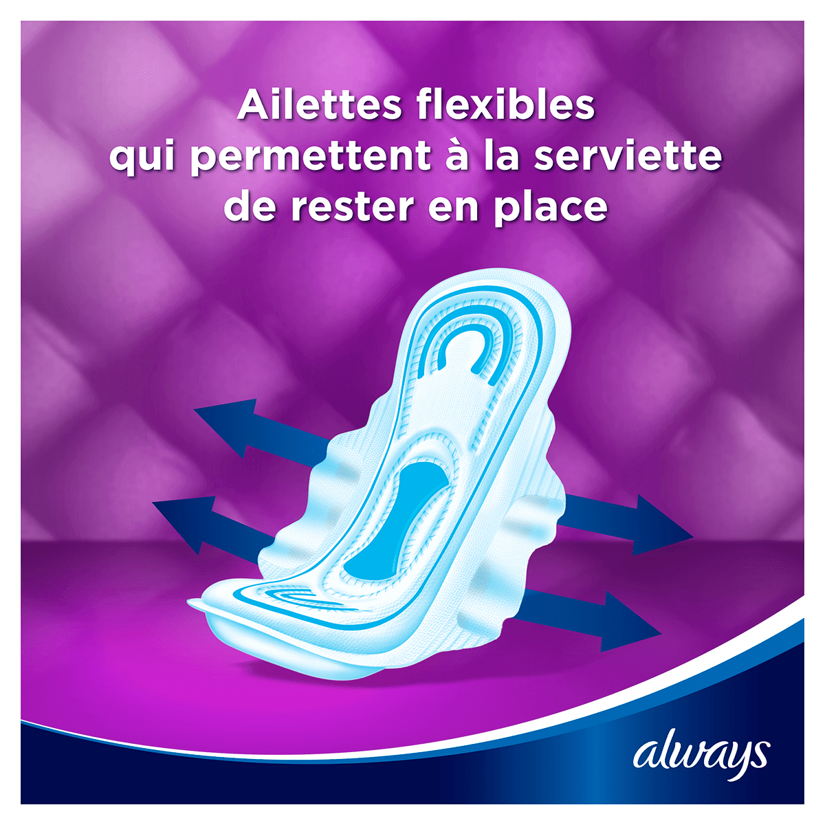 ALWAYS Maxi Long Serviettes Hygieniques Cycle Menstruel 6