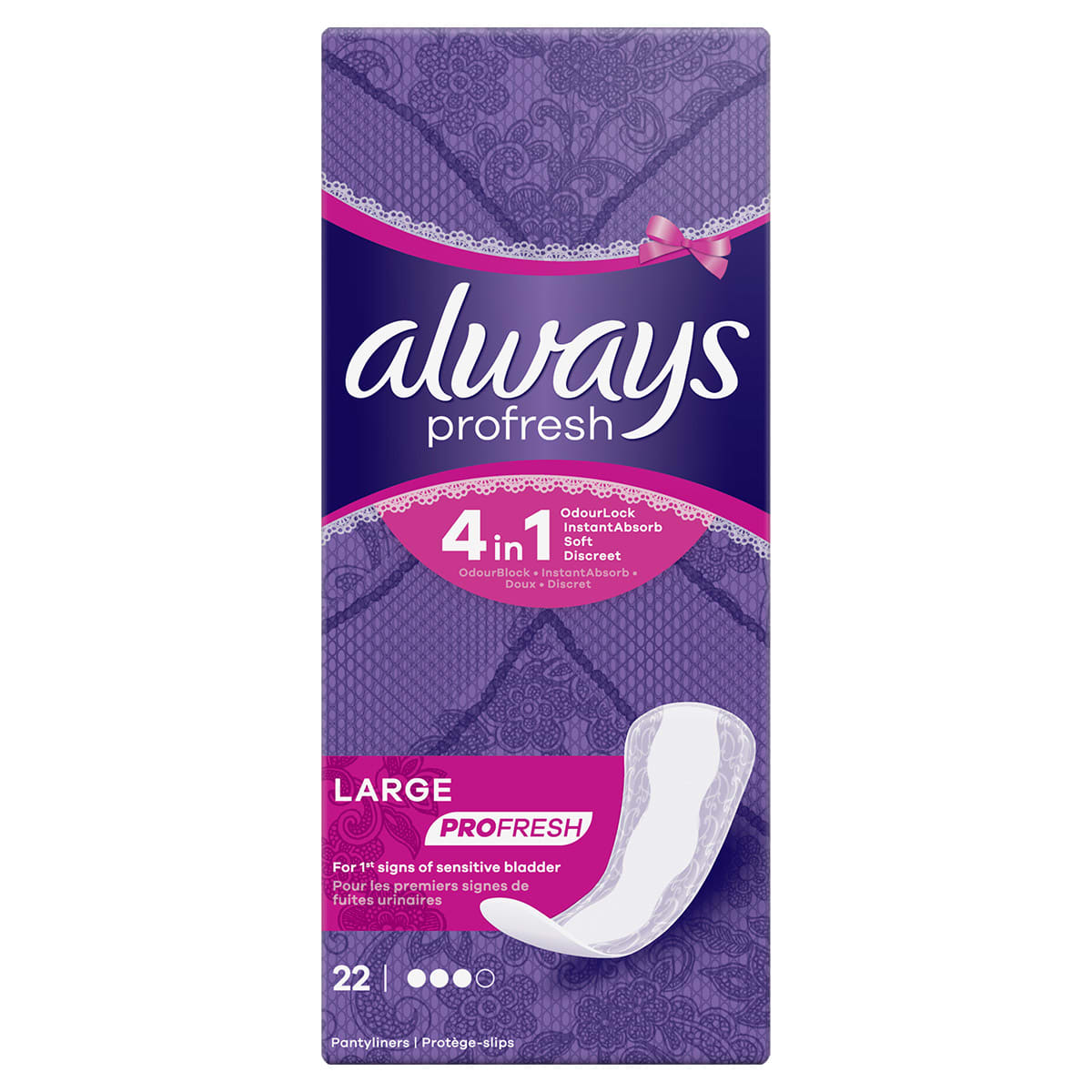 ALWAYS DAILIES Profresh Liners Large