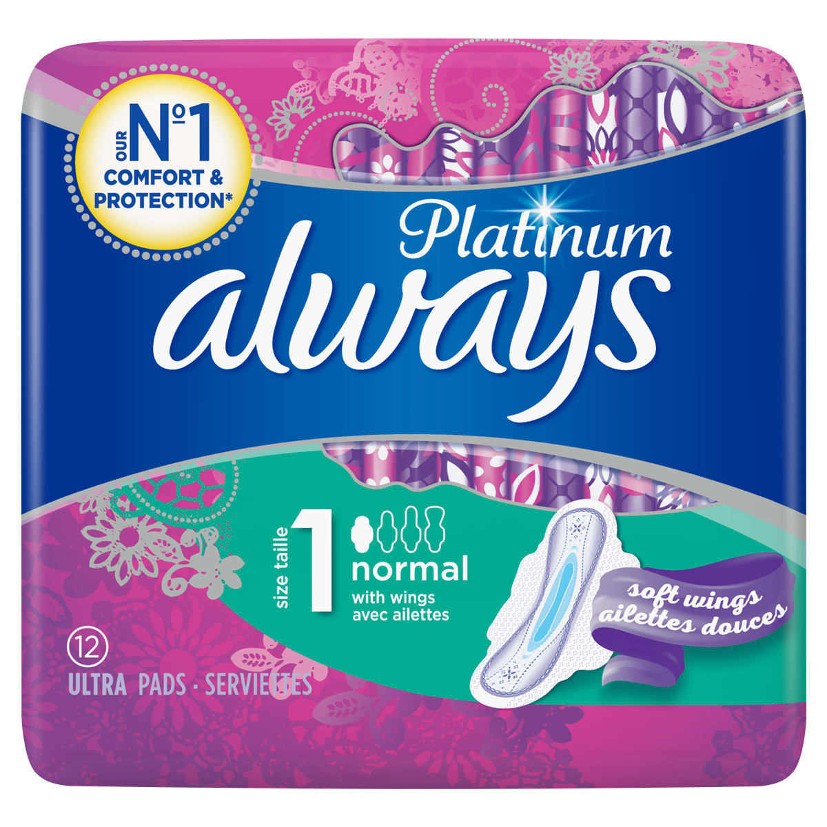 ALWAYS Radiant Normal Taille 1