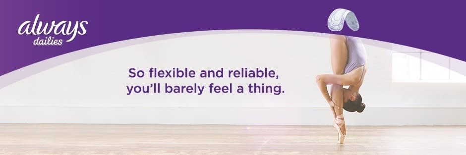 So flexible and reliable, you'll barely feel a thing