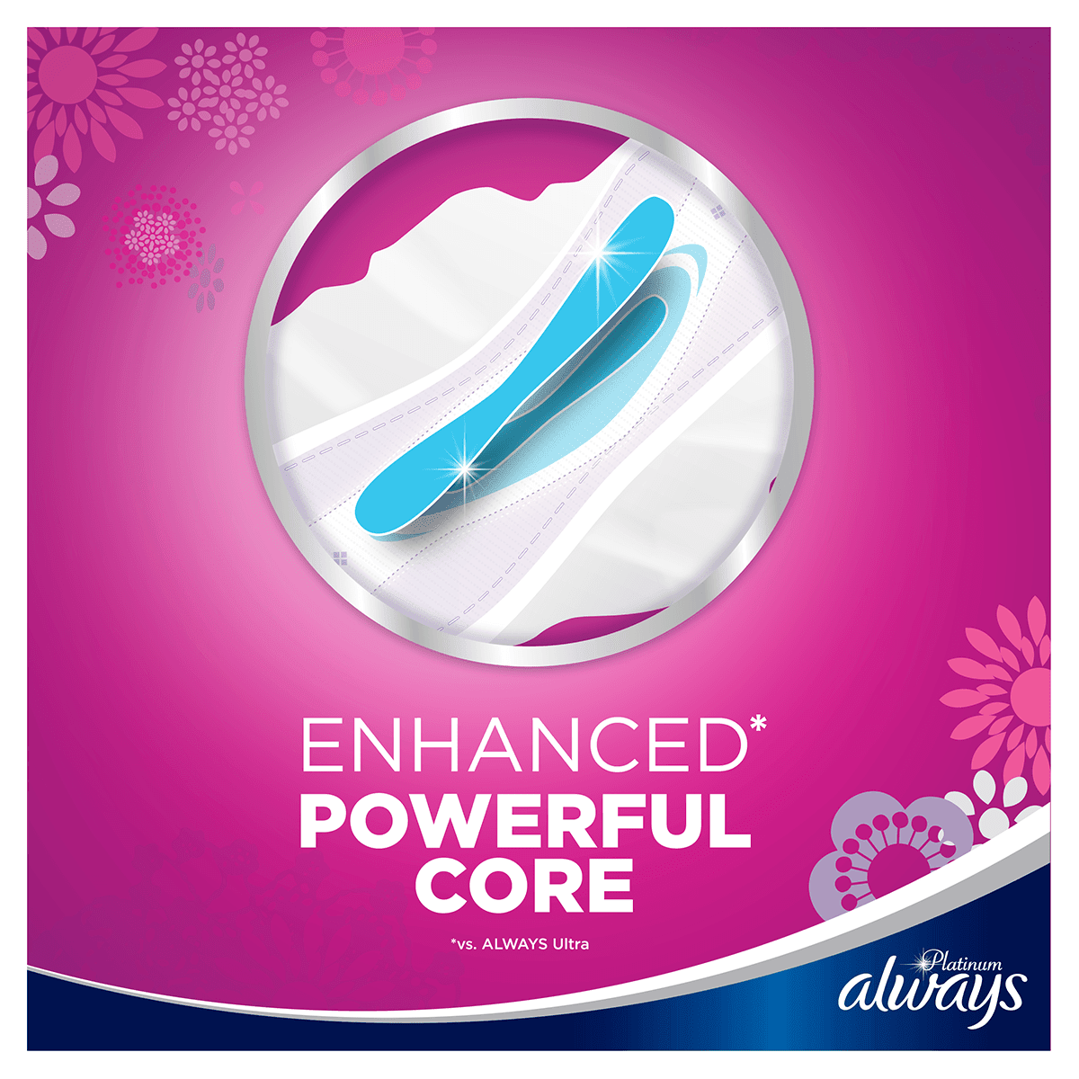 ALWAYS Platinum Long Sanitary Towels
