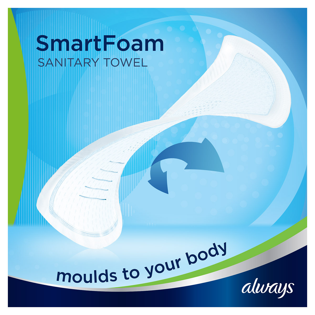 ALWAYS Infinity Normal (Size 1) SmartFoam
