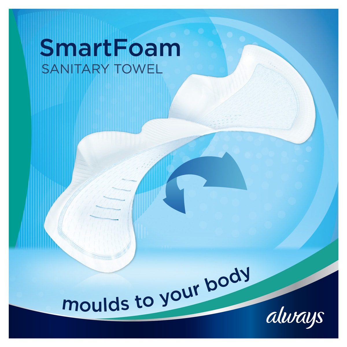ALWAYS Infinity Normal (Size 1) Wings SmartFoam