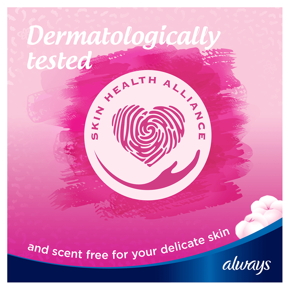 ALWAYS Sensitive Long wings Pads Dermatologically Tested