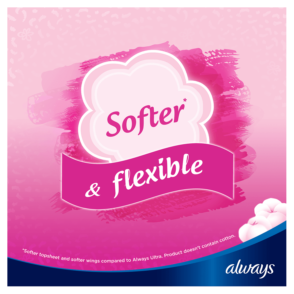ALWAYS Sensitive Normal Sanitary Towel With Wings Softer & Flexible