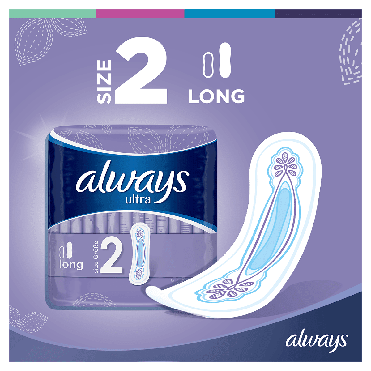 ALWAYS Ultra Long Sanitary Towel Menstrual Cycle