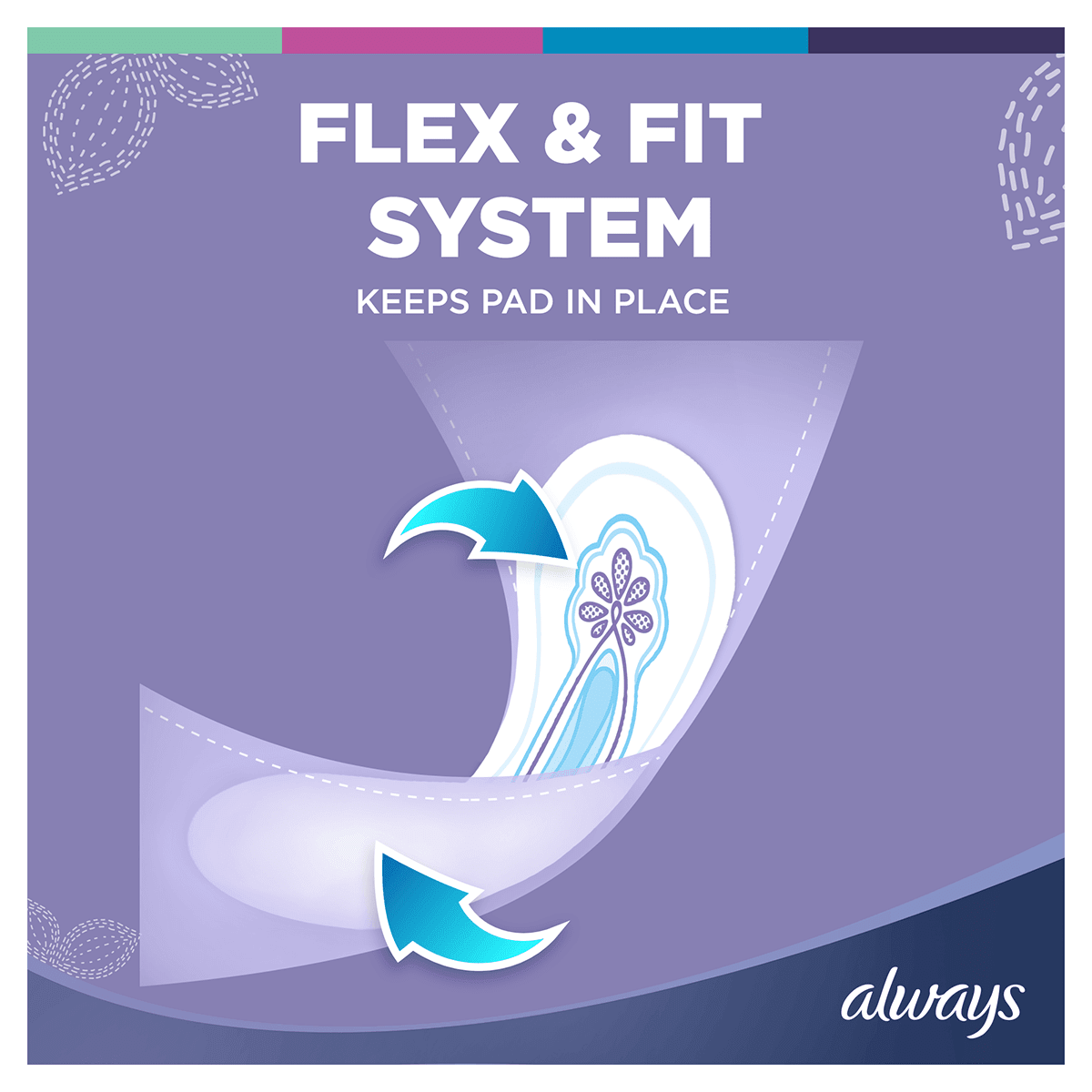 ALWAYS Ultra Long Sanitary Towel Menstrual Cycle Ultra fit