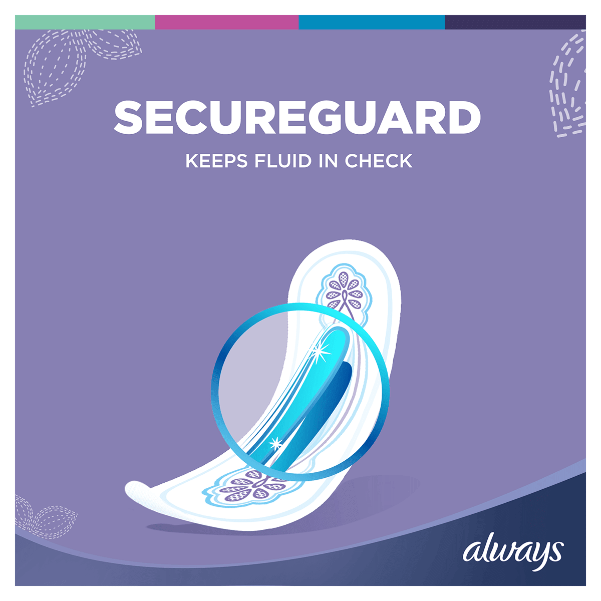 ALWAYS Ultra Long Sanitary Towel Menstrual Cycle Secureguard