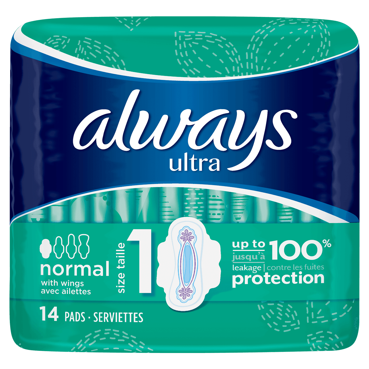 ALWAYS Ultra Normal Sanitary Towels Wings