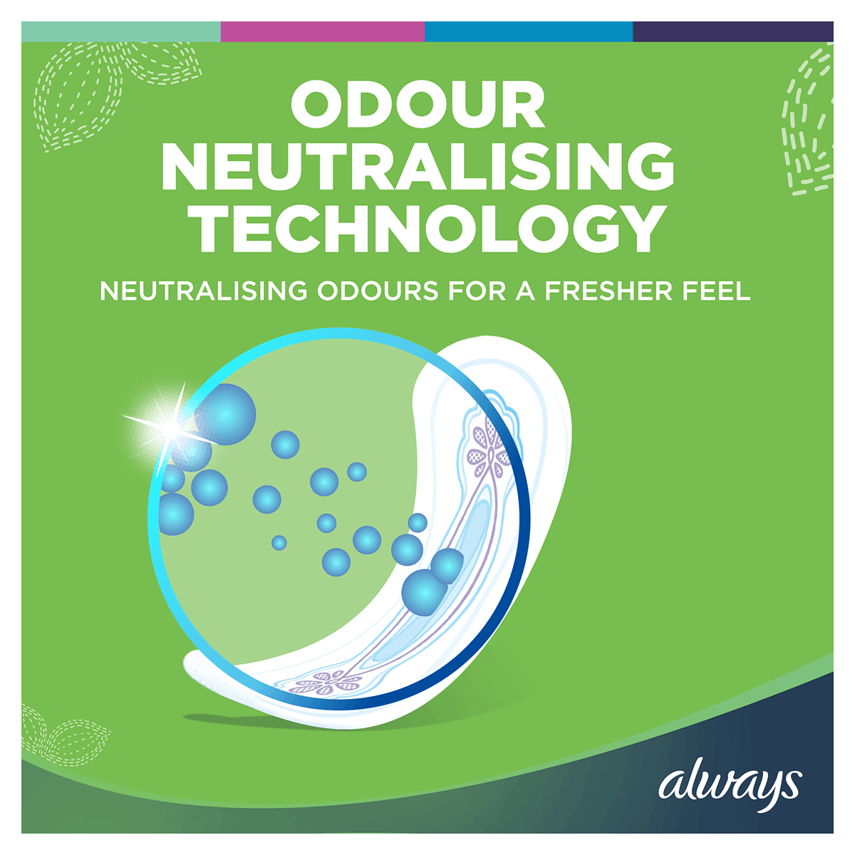 ALWAYS Ultra Normal Sanitary Towel Menstrual Cycle Odour Neutralising Technology