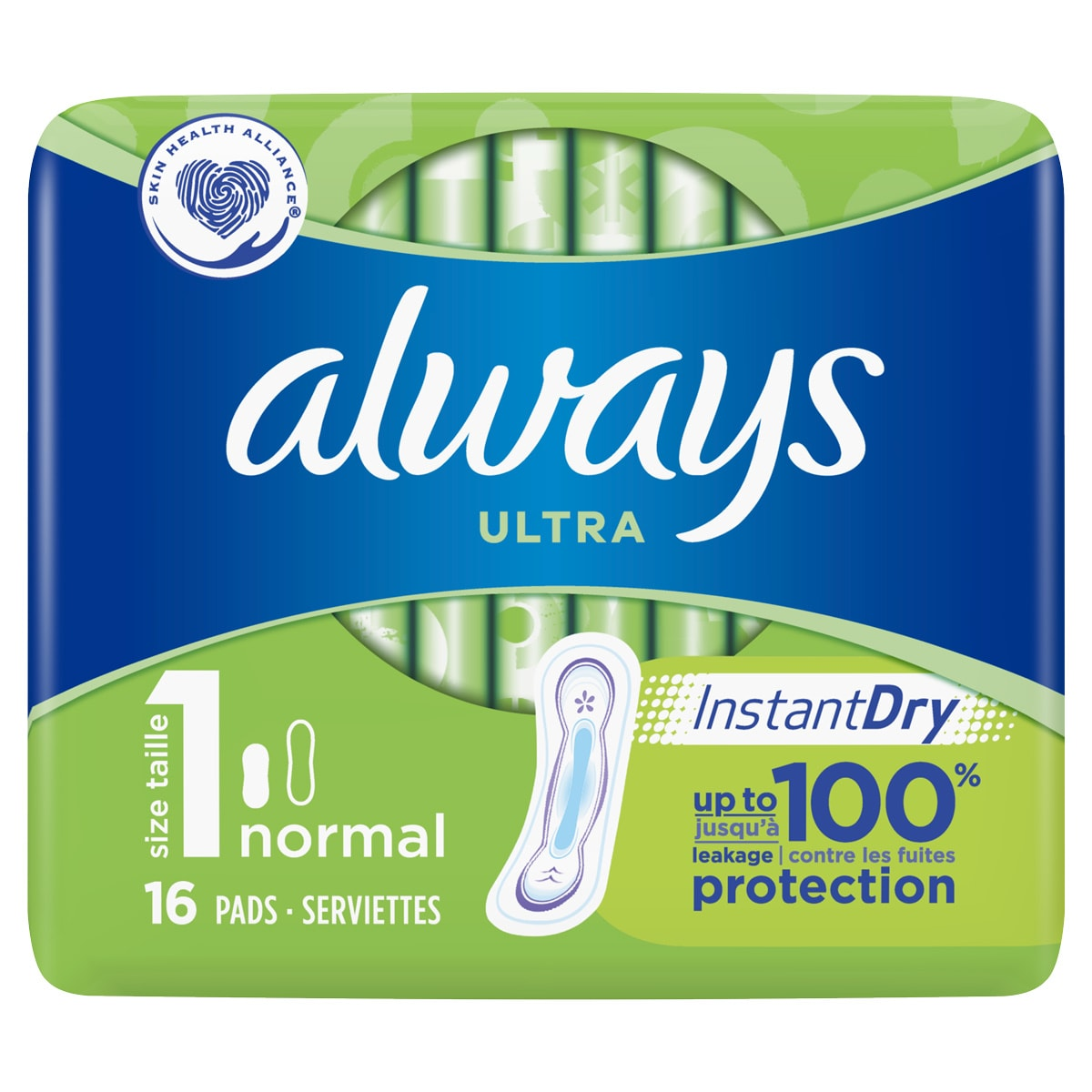 ALWAYS Ultra Normal (Size 1) sanitary towels 16ct