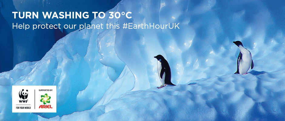 Help our planet and turn washing to 30°C