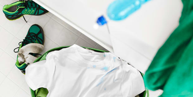 How to remove sport drink stains