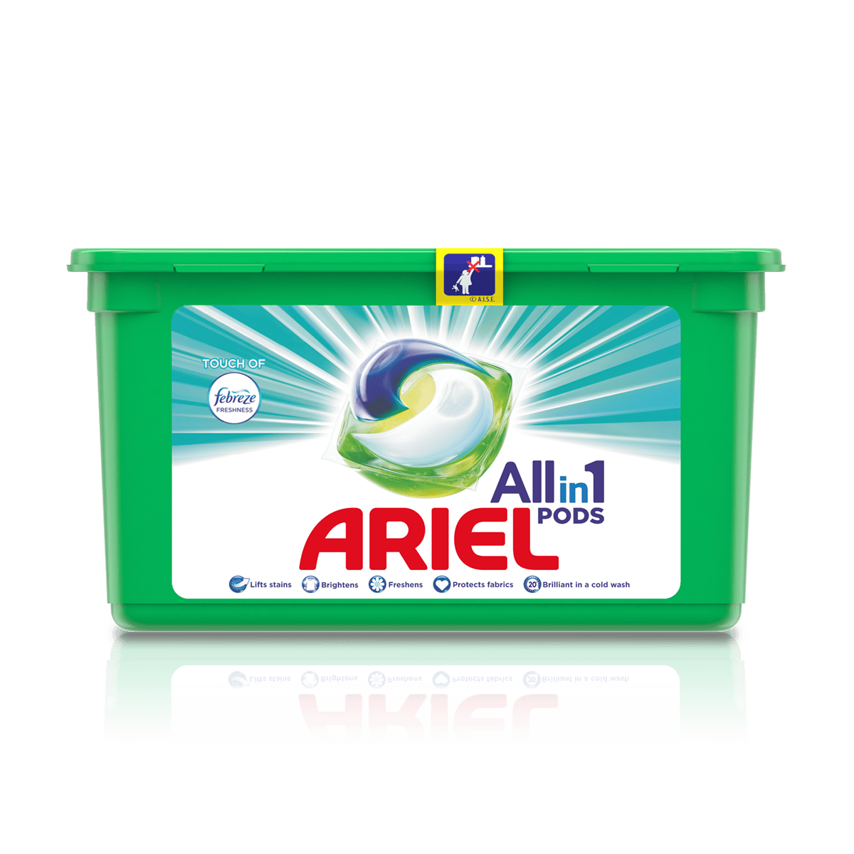 Ariel All-in-1 PODS with a Touch of Febreze