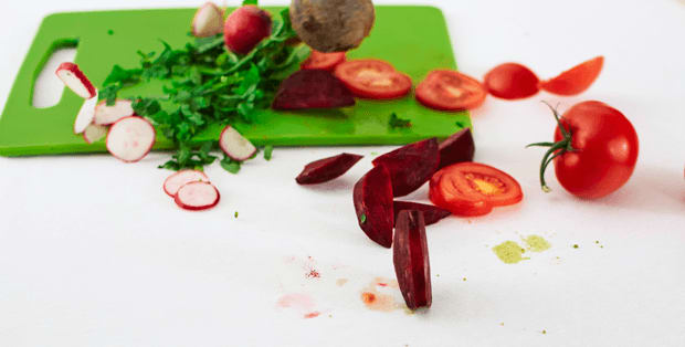 How to remove vegetable stains