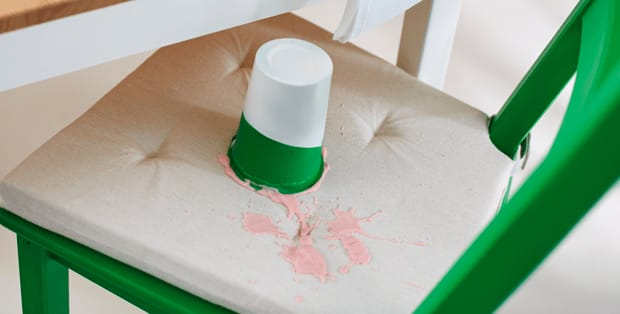 How to remove yoghurt stains